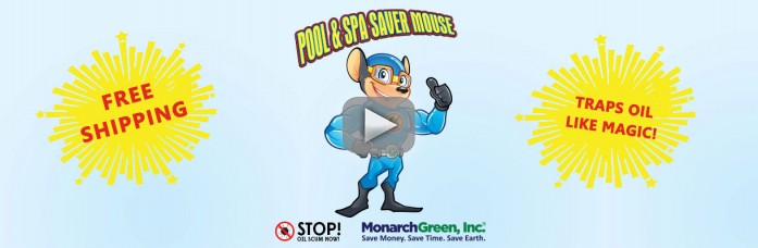 Pool & Spa Saver Mouse® Now Offering Free Shipping